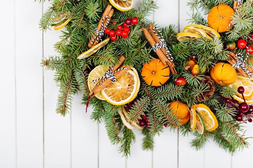 Ekologické vianočné dekorácie