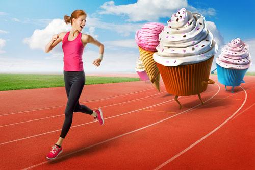 Zlú stravu nevybeháš (nevycvičíš)