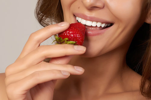 Zuby a jahody