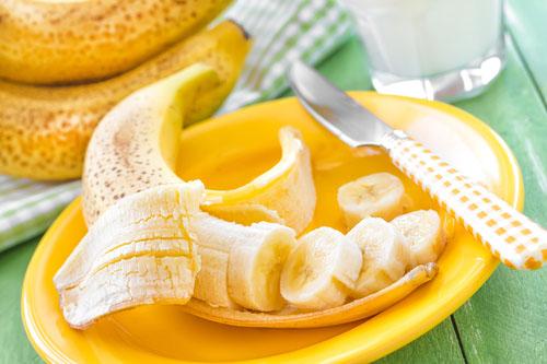 Banán: zrelý vs. nezrelý