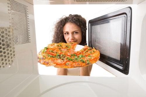 Mikrovlnka a zdravá strava