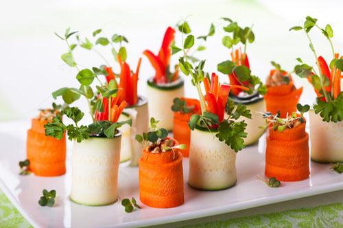 Príprava vitariánskych jedál