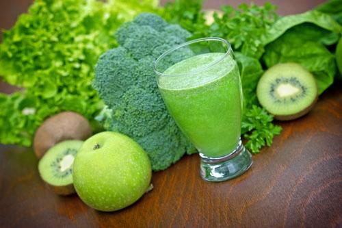 Zaľúbte sa do stravy bohatej na chlorofyl