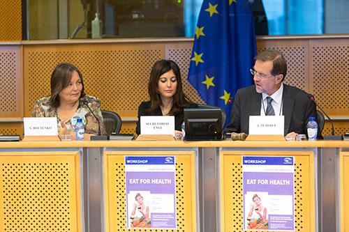 Zelené smoothies v Európskom parlamente