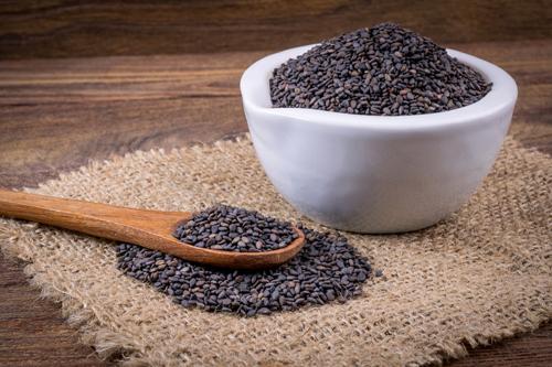 Čierny sezam - Veľmi cenený hlavne v tradičnej čínskej medicíne