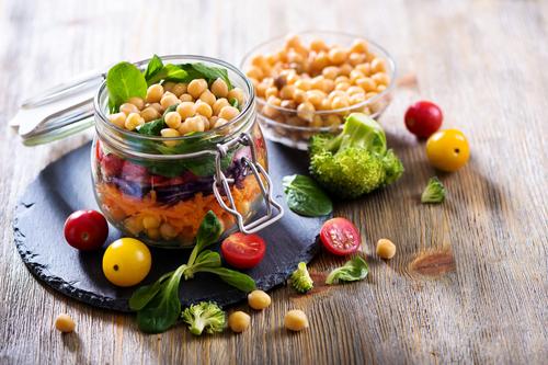 Vzorový vyvážený vegánsky jedálniček