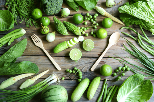 Zelený štvrtok na tanieri vitariána