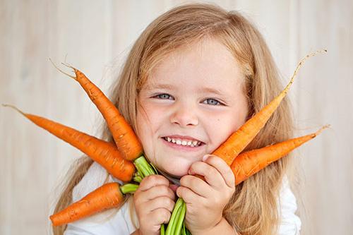 Zelenina deťom