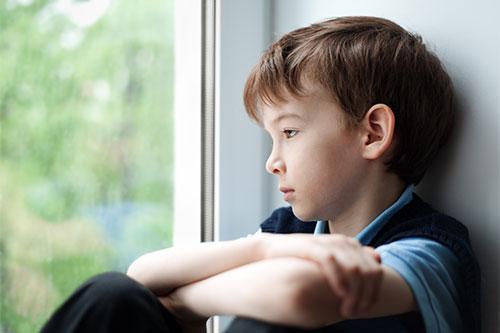 Je vaše dieťa smutné?