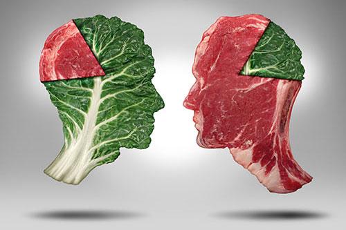 Je človek bylinožravec alebo mäsožravec?