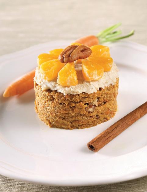 Mrkvovo-pomarančový koláčik