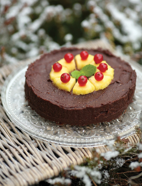 Superfood Brownie koláč