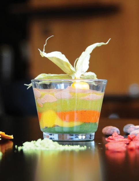 Superfoods vrstvový pohár