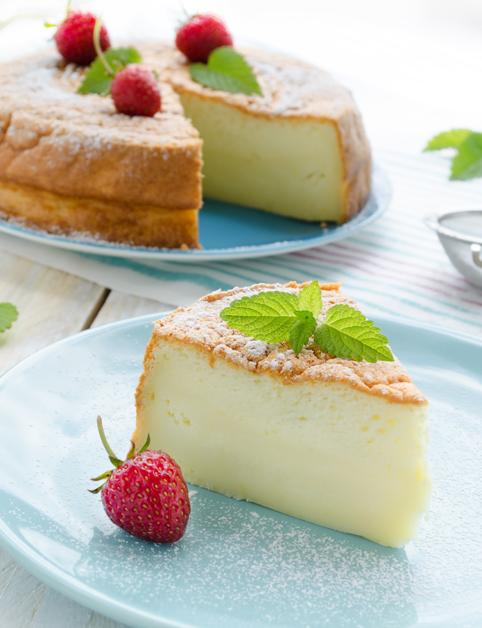 Sviatočný tvarohový koláč