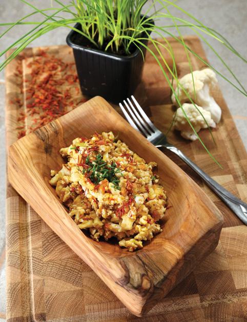 Karfiolové rizoto so šafranom