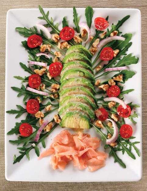 Sashimi z avokáda