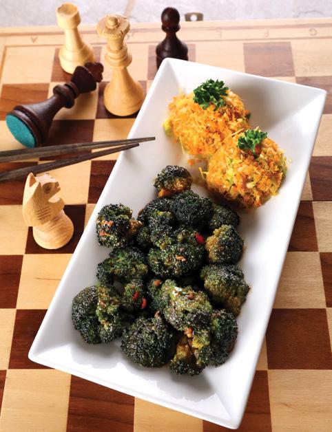 """,,Zapekaná"""" brokolica s pestrou ,,ryžou"""""""