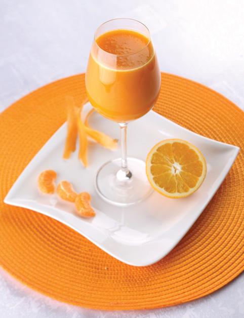 Hebká pokožka - oranžová