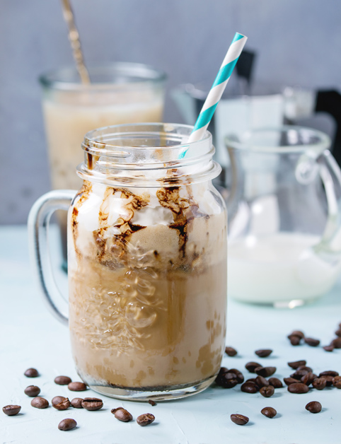 Ľadová káva - ľahká