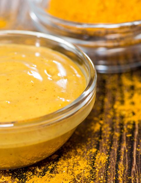 Curry-mrkvová omáčka