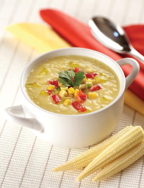 Kukuričná polievka