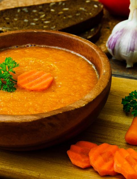 Mrkvová curry polievka