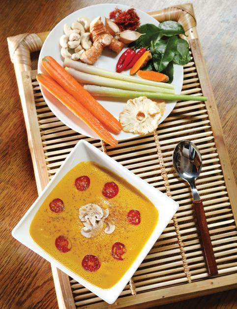 Thajská polievka