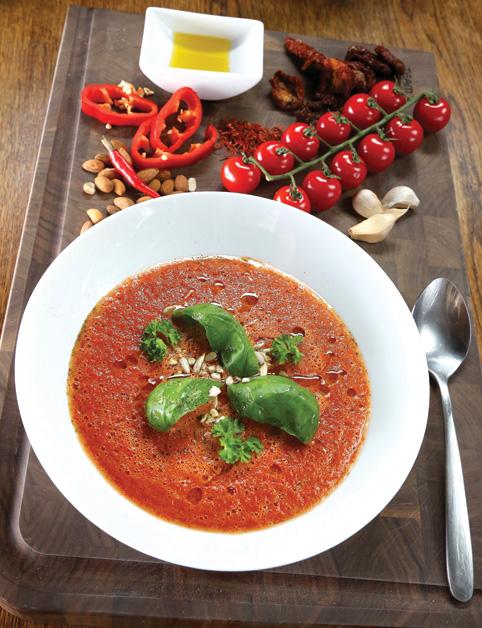Toskánska paradajková polievka